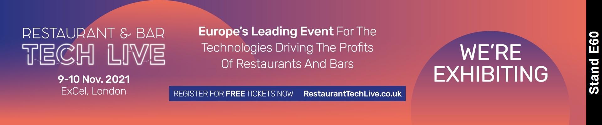 Restaurant Bar Tech Event Details